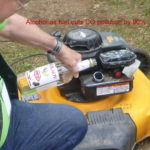alcohol fuels small engine